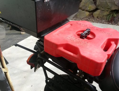 Fuel or Water Cell Mount